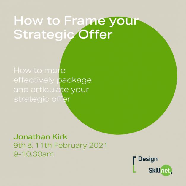 Frame Strategic Offer