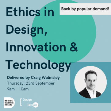 Ethics in Design Innovation and Technology